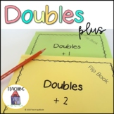 Doubles Plus One and Doubles Plus Two Addition Strategy Interactive Notebook
