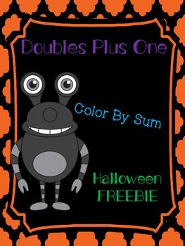 Doubles Plus One Color By Sum