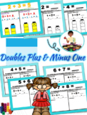 Doubles Plus One & Doubles Minus One Facts & Examples