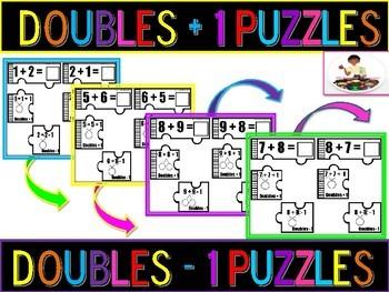 Doubles, Doubles Plus One, Doubles Minus One Puzzles
