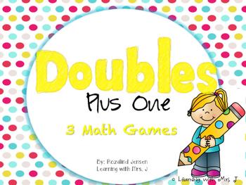 Doubles Plus One Math Fluency Games
