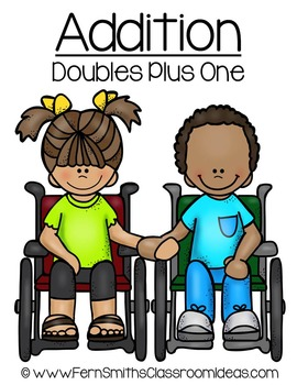 Addition Doubles Plus One Concept Quick and Easy to Prep Math Center