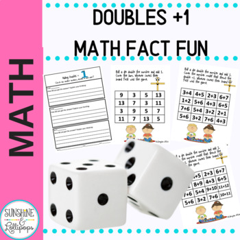 Math Doubles Plus One Fact Activities