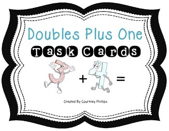 Doubles Plus One Task Cards