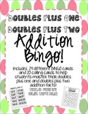Doubles Plus One and Doubles Plus Two Addition Fact Bingo!