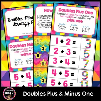 Doubles Plus and Minus One