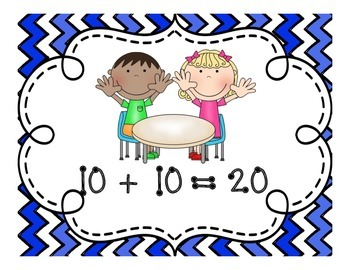 Doubles Posters!  Fun and Colorful Posters to Reinforce Doubles Math Facts!