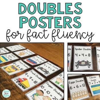 Doubles Posters for Teaching Math Facts