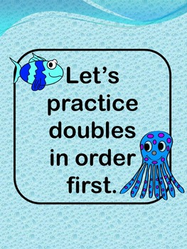 Doubles Practice - Power Point