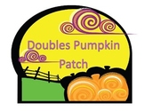 Addition Doubles Facts Pumpkin Scoot and Matching