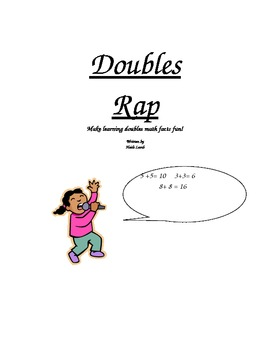 Doubles Rap - Make learning doubles math facts fun!