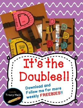 Doubles Rap and Doubles Man Craft for additon FREEBIES