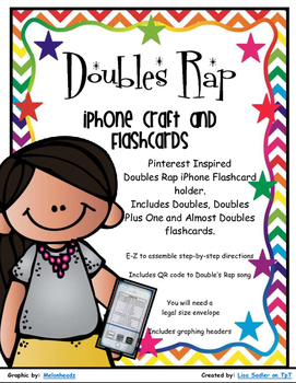 Doubles Rap iPhone Craft and Flashcards - Doubles/Doubles Plus 1/Almost Doubles