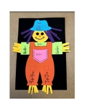 Math Doubles Scarecrow Craft