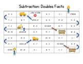 Doubles Subtraction Facts Game