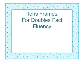 Doubles Ten Frame