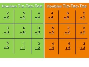 Doubles Tic-Tac-Toe