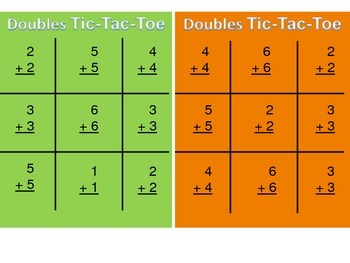 Doubles Tic-Tac-Toe