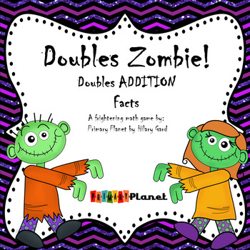 Doubles addition facts fluency game FREE