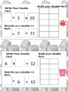 Doubles Addition Practice - Math journals
