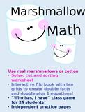 Doubles Addition Practice - Math journals