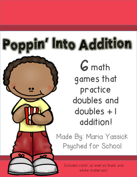 Doubles and Doubles +1 Addition Math Games