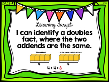 Doubles and Doubles + 1 {Common Core Math Resources}