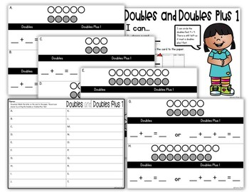 Doubles and Doubles Plus 1