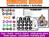Doubles and Doubles Plus 1 Halloween Activities