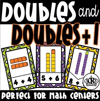 Doubles and Doubles Plus 1 Puzzles for Math Centers