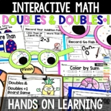 Doubles and Doubles Plus One Addition Facts Activities and Centers