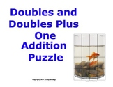 Doubles and Doubles Plus One Addition Picture Puzzle (Fish)
