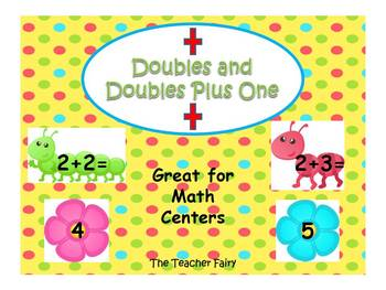 Doubles and Doubles Plus One Buggin Out Math
