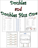 Doubles and Doubles Plus One Printables