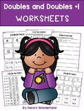 Doubles and Doubles Plus One Worksheets
