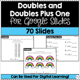 Doubles and Doubles Plus One for Google Slides | Distance