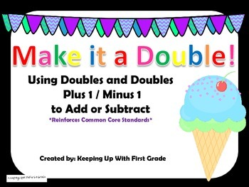 Doubles and Doubles Plus/Minus One Facts