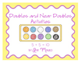 Doubles and Near Doubles (Doubles Plus One) Activities
