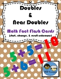 Doubles and Near Doubles, Flash Cards TEK 2.4A