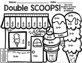 Doubles and Near Doubles Mini Unit