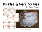 Doubles and Near Doubles Task Cards