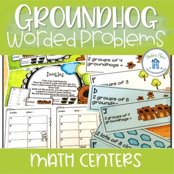Doubles and Worded Problems (Groundhog Day Theme)