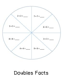 Doubles fact practice