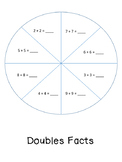 Doubles fact practice