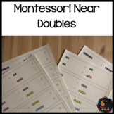 Montessori math: Doubles plus 1 (near doubles)