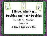 Doubles/Near Doubles Activity- I Have, Who Has?