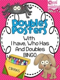 Doubles Posters with I have, Who Has and BINGO