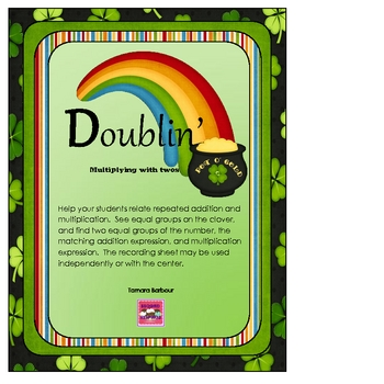 Doublin':Multiplying with Twos