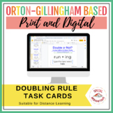 Doubling (1-1-1) Rule Task Box and Literacy Center