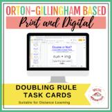 Doubling (1-1-1) Rule Task Cards | Print & Digital | Googl